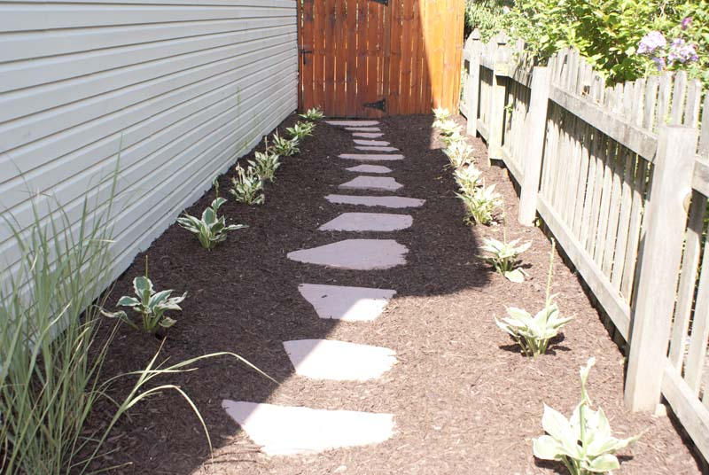 Flagstone Walking Path