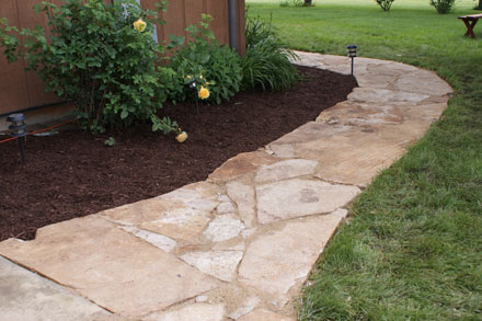 Desert Creek Flagstone Walkway